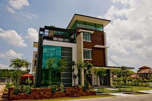House in Kuala Lumpur by Arkitek Axis | HomCozy