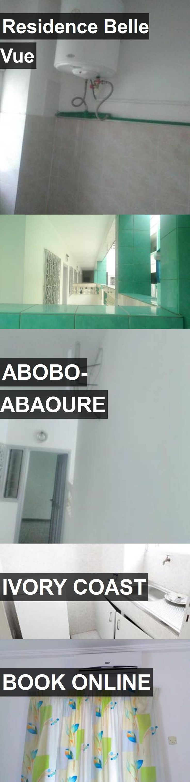 Hotel Residence Belle Vue in Abobo-Abaoure, Ivory Coast. For more information, photos, reviews and best prices please follow the link. #IvoryCoast #Abobo-Abaoure #travel #vacation #hotel