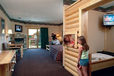 Great Wolf Lodge Suites W Kids Cabin Had Bunk Beds And