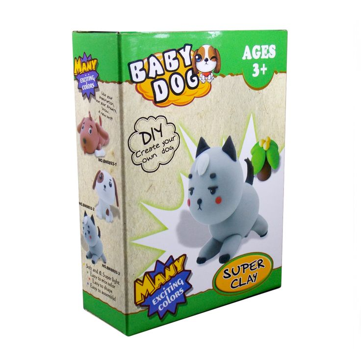 Clay-O Super Clay Baby Dog BN8893-3