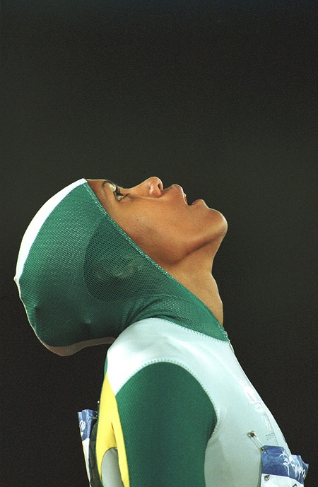 Cathy Freeman - 2000 Sydney Olympics gold medal for 400m
