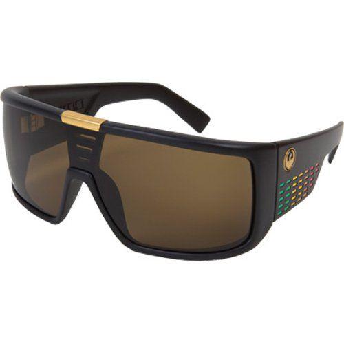 Dragon Sunglasses Domo Large Fit Eyewear - Dragon Alliance Men's Lifestyle Shades - Rasta/Bronze / One Size Fits All Frame Color: Rasta / Lens Color: Bronze. Size: One Size Fits All. Dragon Alliance Domo Large Fit Lifestyle Sunglasses/Eyewear for Men. Dragon sunglass, shades and eyewear.