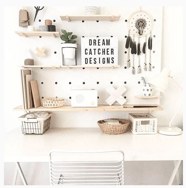 KMART PEGBOARD - HOW TO STYLE IT