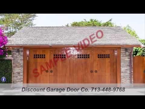 Garage Door Opener Installation Houston Garage Door Installations Houston SAMPLE