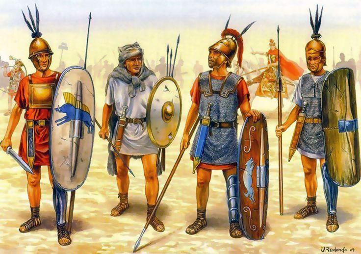 Roman legion during the Punic War