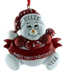 This Personalised Baby's First Christmas Ornament is such a beautiful way to celebrate your baby's first christmas by hanging this ornament on your tree. Also available in Pink and Blue - perfect for girls and boys. WowWee.ie | €12.50