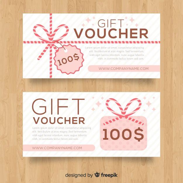 Modern Gift Voucher Template Voucher Design Gift Voucher Design Gift Card Design