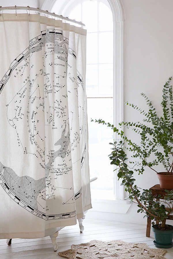 Copper Shower Curtain Hooks Set Curtains Constellations Shower