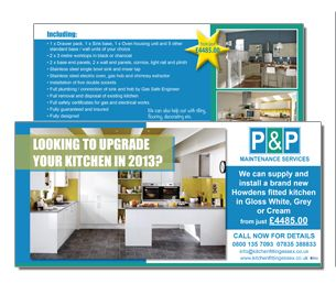 Kitchen fitting and Maintenance flyer.  http://www.ppmsltd.co.uk