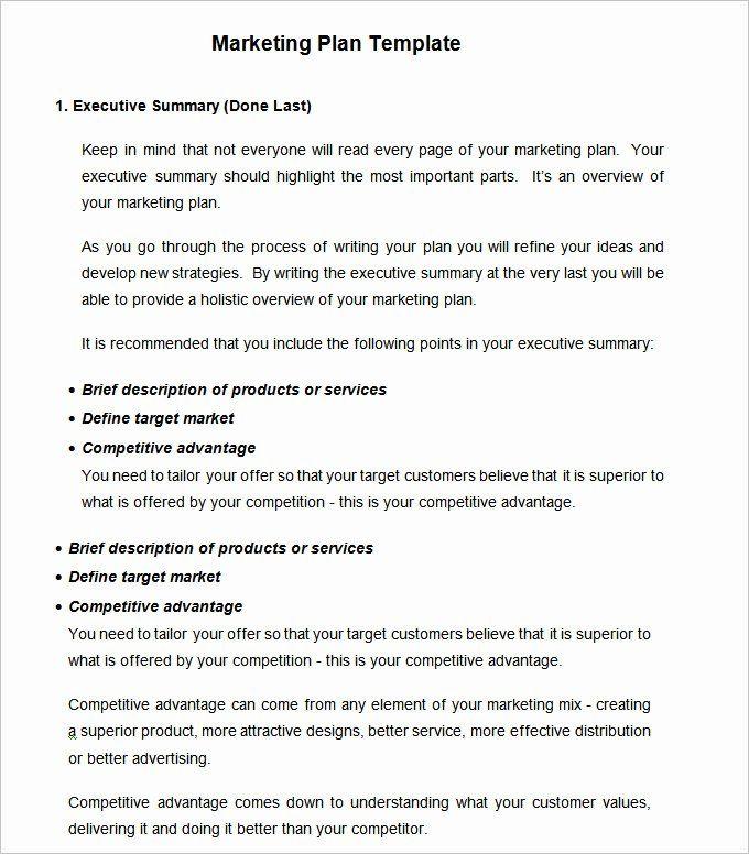 Simple Marketing Plan Template Word New Strategic Marketing Plan Template 10 Free Word Pdf Marketing Plan Outline Marketing Plan Template Marketing Plan
