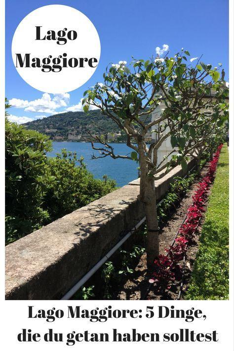 Der Lago Maggiore ist eine wunderschöne und abwechslungsreiche Ferienregion in Italien und der Schweiz. Was du dort unbedingt unternehmen solltest, verrate ich dir gerne.