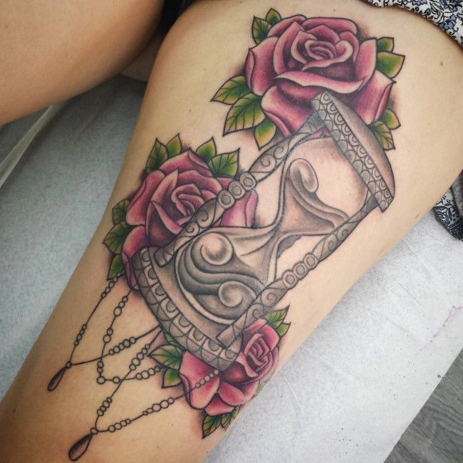 Hourglass tattoo trash  Die besten 10+ Hourglass tattoo meaning Ideen auf Pinterest ...