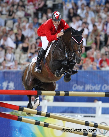 Hickstead and Eric...oh the memories of Gold at the Olympics. Go Canada!     We miss you Hickstead....