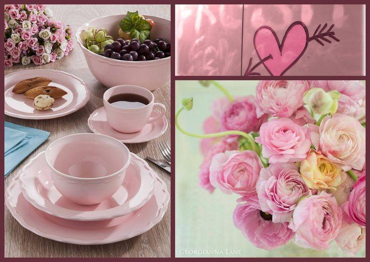 www.keramika.com.tr www.keramikashop.com #keramika #seramik #mutfaklarinizirenklendiriyoruz #juliette #pink #pembe