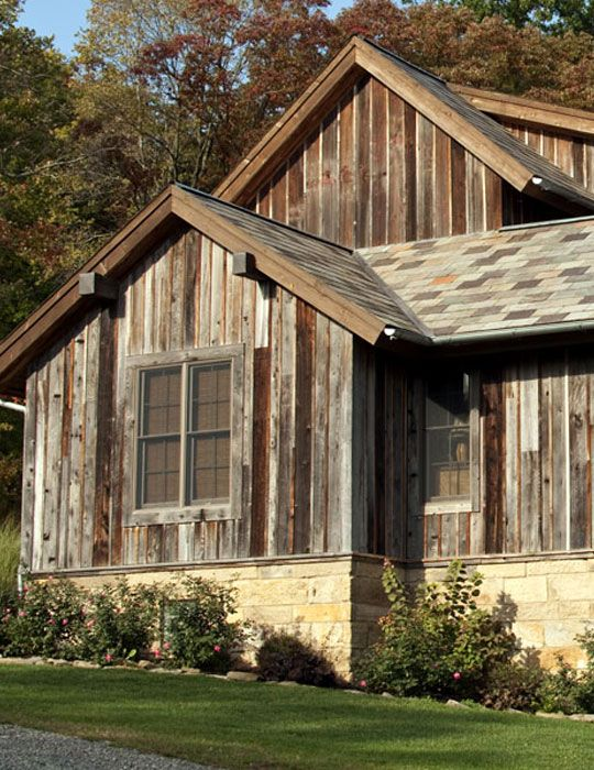 17 best images about reclaimed wood siding on pinterest for Barnwood siding for sale