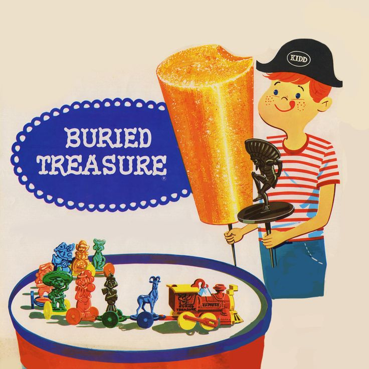 Remember Buried treasure? | Party Fun Box
