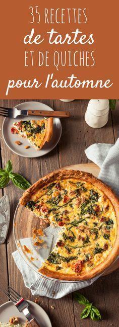 Aux poireaux, aux champignons, au potimarron : 35 recettes de quiches et de tartes salées pour l'automne !