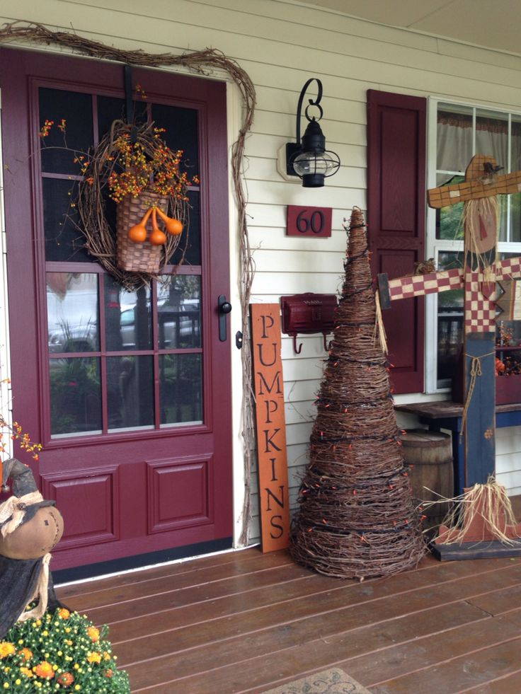 291 best images about country porches on pinterest for Country decorating ideas