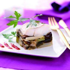 Een overheerlijke kabeljauwfilet met gekonfijte prei en schorseneren, die maak je met dit recept. Smakelijk!