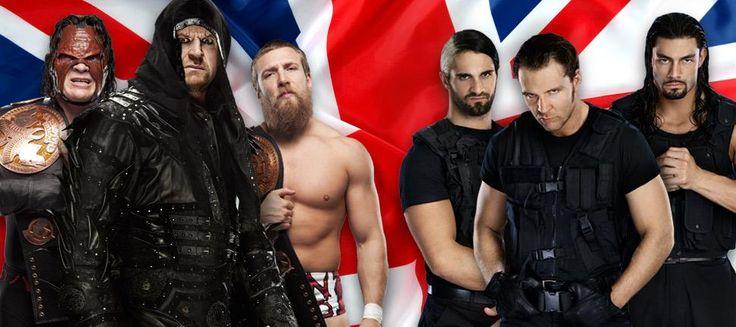 WWE RAW (Cobertura y Resultados 22 de abril de 2013) - The Undertaker, KANE y Daniel Bryan vs. The Shield desde Inglaterra.