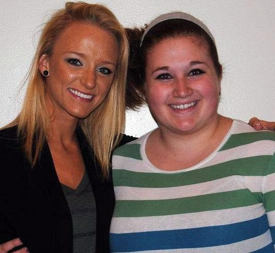 I met Maci from teen mom!