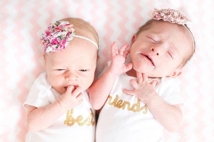 Twin newborn session at home. Lemont, IL
