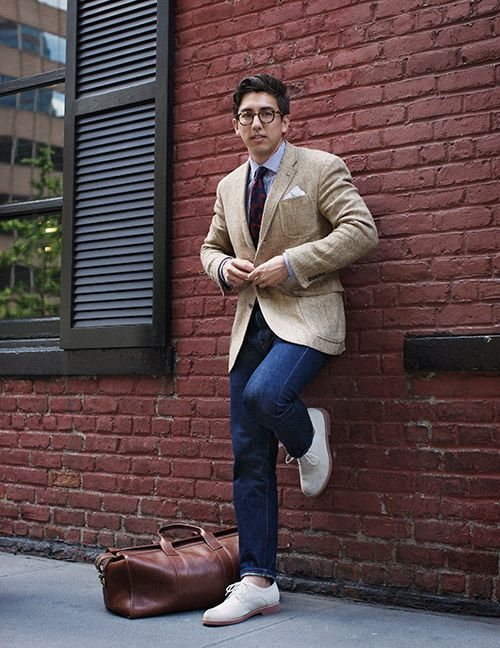 Why don't more men wear sport coats with their jeans ...