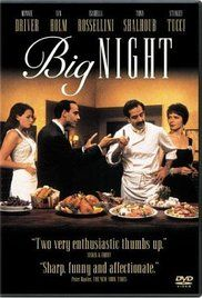 Big Night - A failing Italian restaurant run by two brothers gambles on one special night to try to save the business.