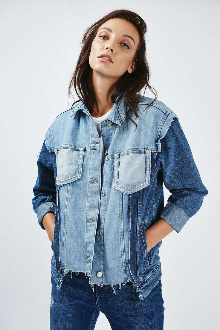 MOTO Mullet Oversized Jacket - Topshop X Man Repeller