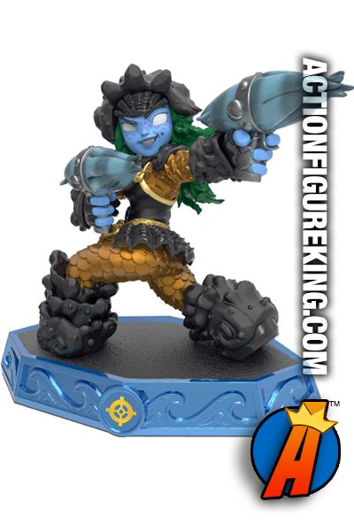 Skylanders Imaginators MASTER TIDEPOOL figure and gamepiece. Visit our website for a full line of Skylanders #Imaginators figures and collectibles including pricing and availability. #mastertidepool