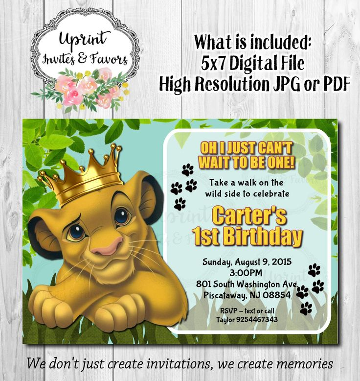 Printable Birthday Party Invitation Card Detroit Lions: 28 Best Boy Invitations By Uprint Invites Images On