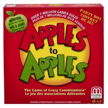 Apples to Apples - It's the game of hilarious comparisons.