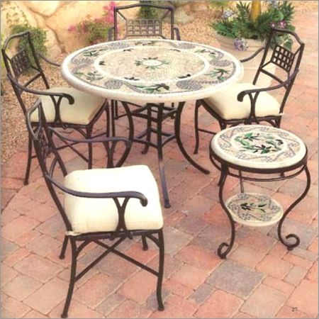 Wrought Iron Outside Furniture