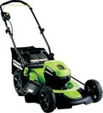 Greenworks 60V Lithium Brushless Cordless Lawn Mower, 20-in | Canadian Tire