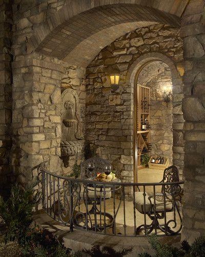 Wine Cellar Stone Wine Cellar Design Marietta Design, Pictures, Remodel, Decor and Ideas - page 28