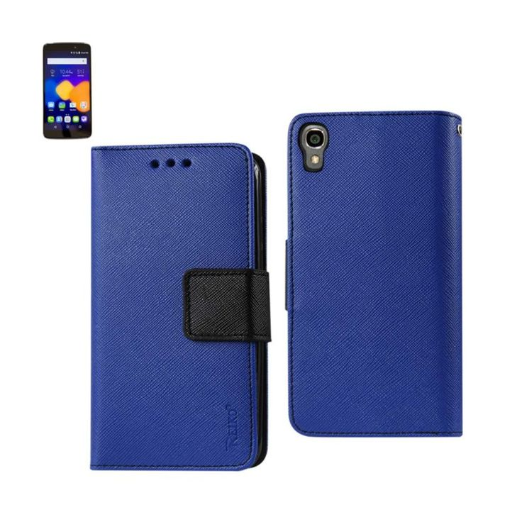 Reiko Alcatel One Touch Idol 3 5.5 3-In-1 Wallet Case In Navy //Price: $18.99 & FREE Shipping //     #mobileaccessories #phonecases