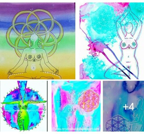 Meditation art, flower of life series www.renezawaddellbubbleart.com #renezawaddellbubbleart