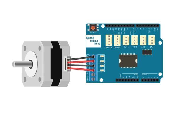 Arduino and steppermotors