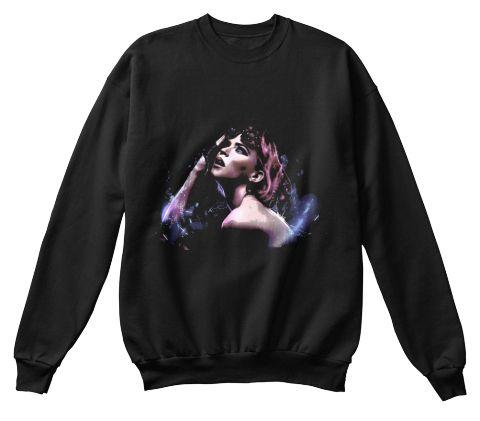 Top Beauty Black Sweatshirt Front