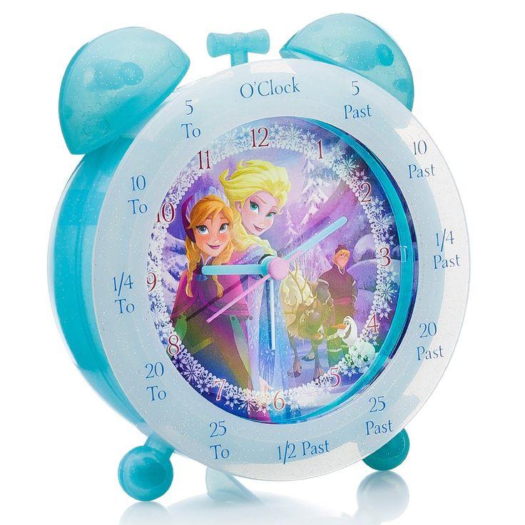 FROZEN Time Teacher Clock http://www.parentideal.co.uk/amazon---disneys-frozen.html