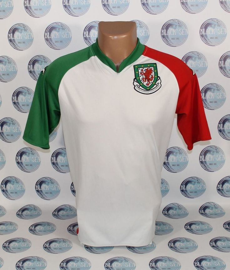 WALES NATIONAL TEAM 2006 2007 THIRD FOOTBALL SOCCER SHIRT JERSEY MAILLOT KAPPA M #KAPPA #WALES