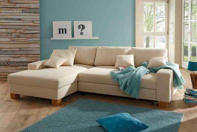 Home affaire Ecksofa, wahlweise mit Bettfunktion  #sofa #couch #sofaliebe #homeaffaire #neckermannde #ecksofa #schlafsofa