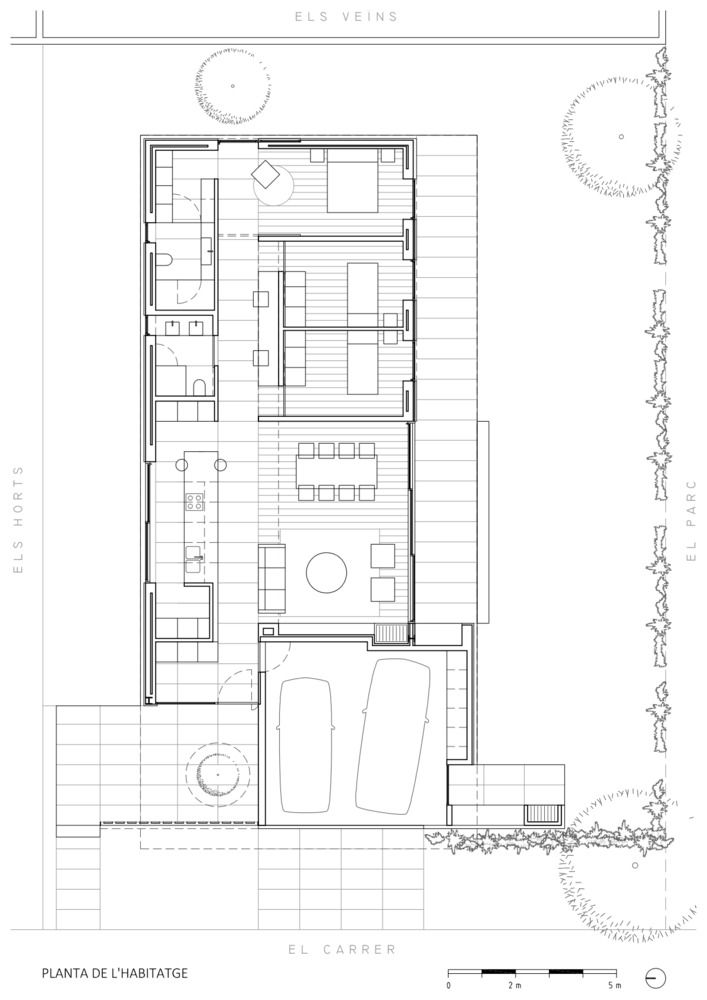 Gallery Of The Park House Arnau Estudi D Arquitectura 19 Residential Architecture Architecture House House Floor Plans