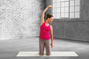 So you strengthen your pelvic floor – Sport