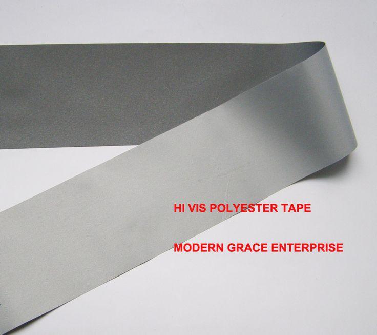 DIY, 5 CM x 3 Metro, de Alta visibilidad reflectante grado cinta cosida, forro de poliéster, color Gris, envío libre