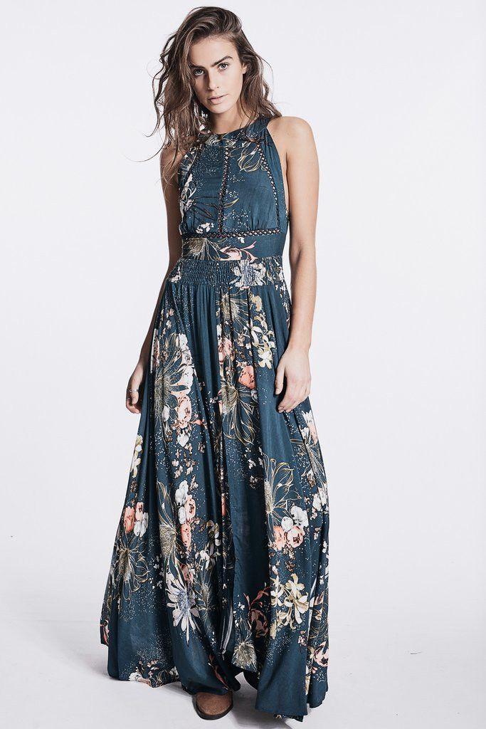Jaase - Flower Bomb Endless Summer Maxi Dress