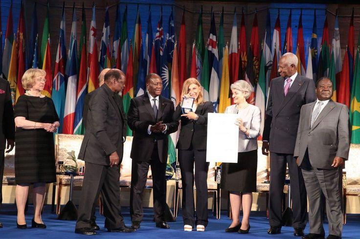 #prci:Le prix #UNESCOPrixFHB a été décerné à Mme Giuseppina Nicolini (Italie) et à l'ONG SOS Méditerranée (France)