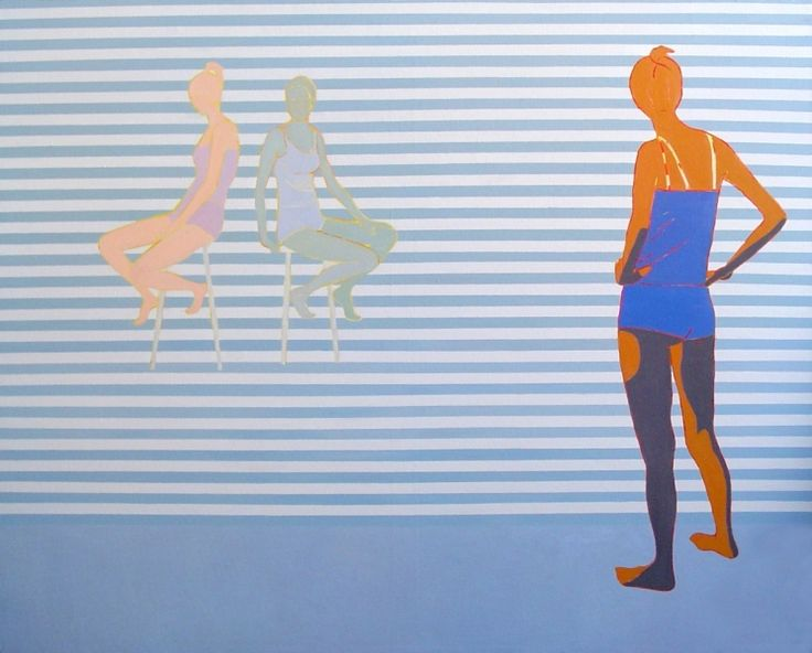 Iwona Zawadzka, Czekam, 2007 #art #contemporary #artvee