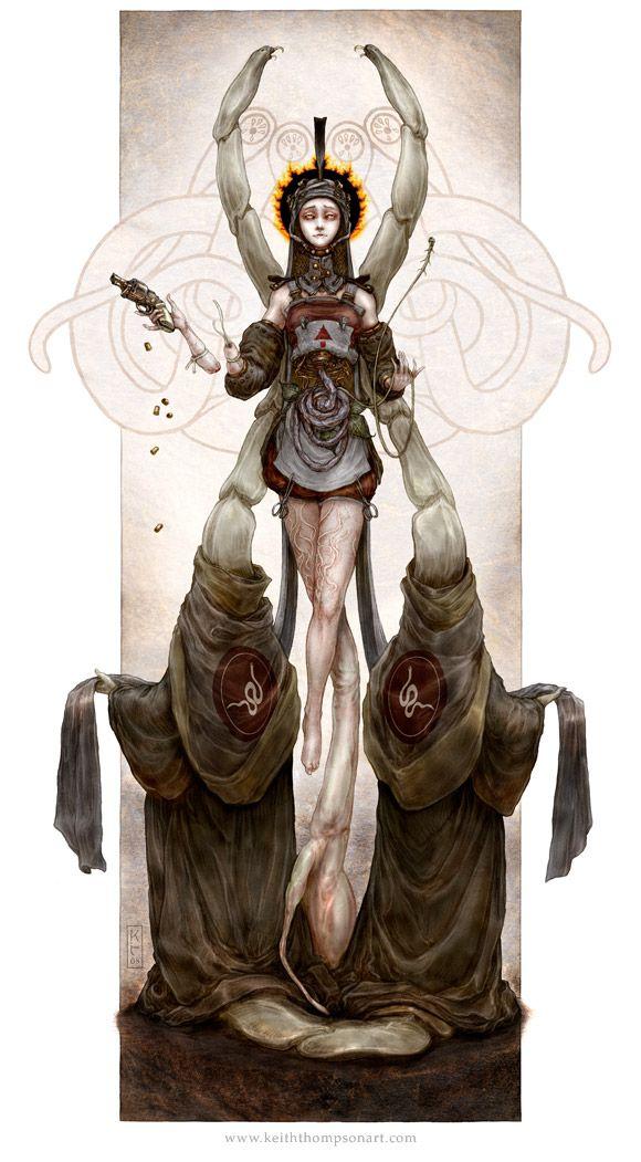 ☆ Saint of Parasites :¦: Artist Keith Thompson ☆
