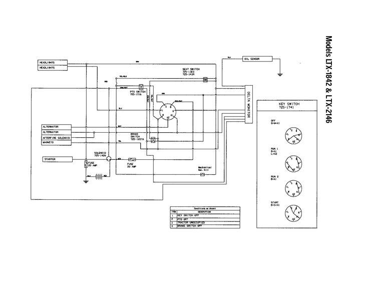 Craftsman Model 917 Wiring Diagram Elegant In 2020